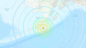 Tsunami sirens sound in Alaska after 7th largest earthquake in US history hits off coast (01:31)