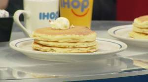 Donate to the Stollery and get free flap jacks on National Pancake Day at IHOP