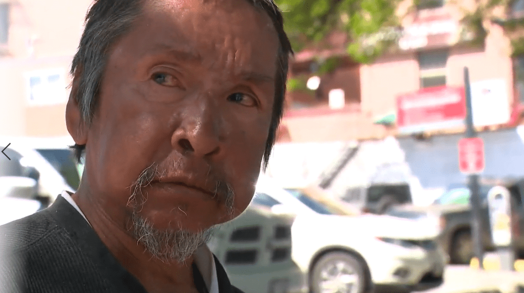 Click to play video: 'B.C. residential school survivor shares his story'