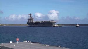 Coronavirus outbreak: US Admiral discusses removal of 1000 sailors from USS Roosevelt