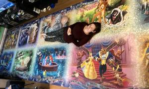 Belleville woman shatters record with 40,000-piece jigsaw puzzle (01:47)