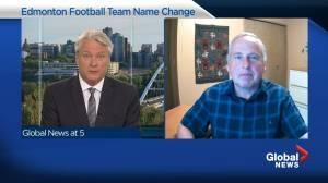 Len Rhodes says dropping 'Eskimos' name was inevitable for Edmonton football team