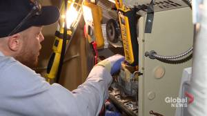 Calls for furnace repairs in Calgary on the rise as frigid temperatures continue (01:33)