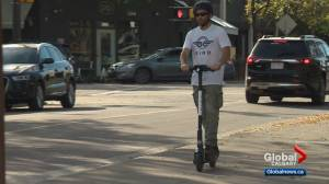 Changes coming to rules for e-scooters in Calgary