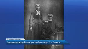 Canada officially marks Emancipation Day commemorating the end of slavery (05:08)