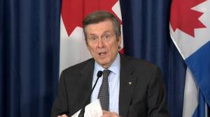 Coronavirus outbreak: Mayor Tory reinforces importance of wearing face masks amid COVID-19 pandemic