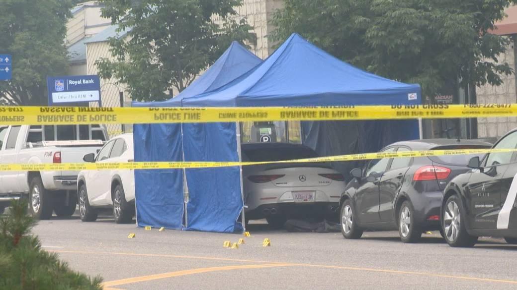 'Alarming find  made astatine  Kelowna pack  shooting wherever  2  men injured'
