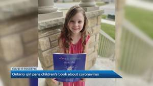 Ontario girl pens children's book about COVID-19