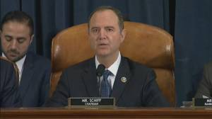 Trump impeachment hearings: Adam Schiff opening statement on day three