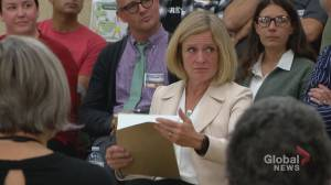 Rachel Notley visits Lethbridge for budget town hall