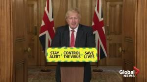 Coronavirus outbreak: Johnson says U.K. will have to adapt if vaccine takes time