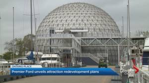 Ontario government announces 3 companies will redevelop Ontario Place (02:53)