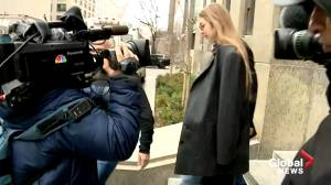 Gigi Hadid leaves court after being called for jury duty in Weinstein case