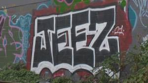 Graffiti city: Vancouver sees huge spike in tagging during COVID (02:19)