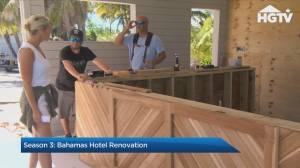 The Baeumler's renovate a rundown resort in the Bahamas on 'Island of Bryan' (05:20)