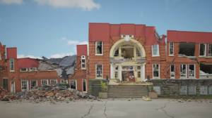 UBC team releases picture of Vancouver school 'damaged' by earthquake