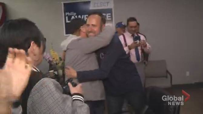 Click to play video: Conservative Philip Lawrence lands surprise win in Northumberland-Peterborough South
