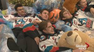 Rocket Report Teddy Bear Toss