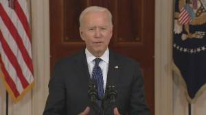Biden says U.S. committed to working with partners to provide 'rapid humanitarian assistance' for Gaza (00:59)