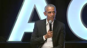 Barack Obama hosts 'fireside chat' with NBA players during All-Star Weekend