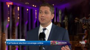 Leaders' Debate: Scheer says he was comfortable attacking Trudeau during the debate because he 'hides the truth'