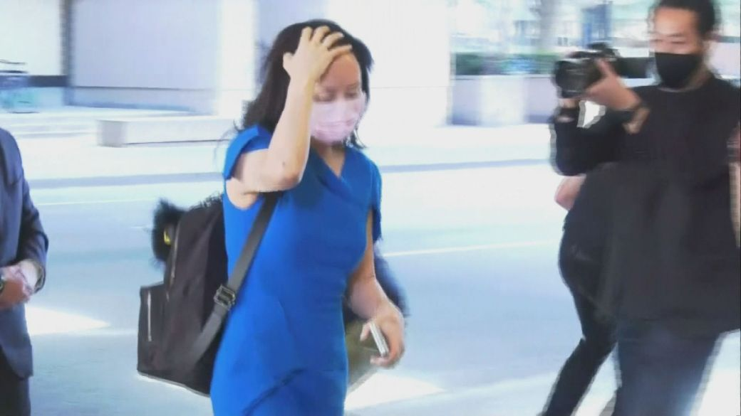 Click to play video: 'Meng Wanzhou's lawyers call for stay in proceedings'