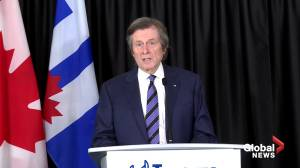 "Mayor John Tory says he feels ""overwhelmed with anger and sadness"" on 3rd anniversary of Toronto van attack (07:53)"