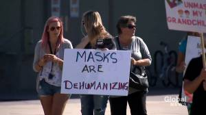 Questions raised over mask policies in Alberta schools (02:00)