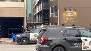 20-year-old woman dead after police-involved shooting at downtown Calgary hotel (01:55)