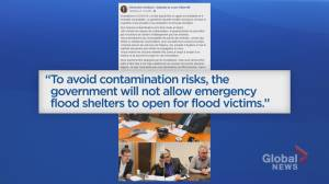 New flood management plan needed due to COVID-19