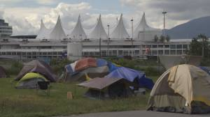 Tent city residents near CRAB Park fight injunction