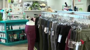 Holiday season provides hope for some Edmonton-area businesses (01:39)