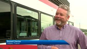Calgary Transit pulls out all the stops for 8-year-old boy's birthday