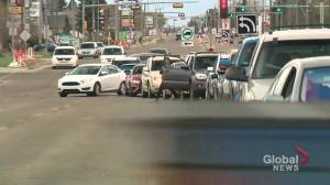 Peters' Drive-In opening leads to traffic jams in south Edmonton