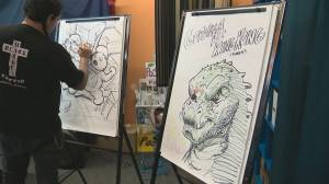 Art For Heart fundraiser sees local artists battle it out for the Stollery