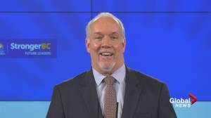 B.C. Premier John Horgan on COVID-19 vaccine safety and why he has not yet had his vaccine (03:50)