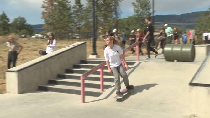 Skateboard memorial held for West Kelowna teen