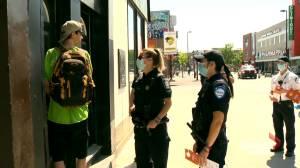 Health officials launch door to door campaign to ensure Montrealers stay cool during heatwave