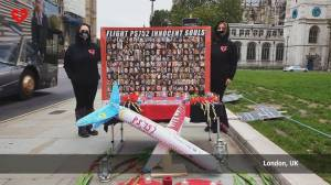 Families of downed flight demand justice nearly 1 year after fatal crash in Iran