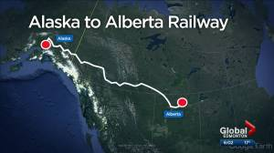 Alberta to Alaska railway would move oil, other resources (01:59)