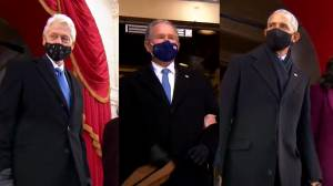 Biden inauguration: Clintons, Bushes and Obamas arrive at Capitol Hill (06:27)