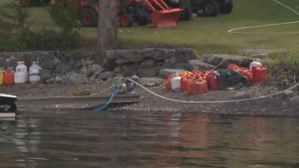 'Residents garbage  to permission  evacuation zone'