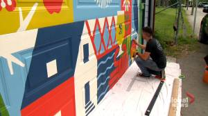 Calgary Cares: Community gets creative for Neighbour Day amid COVID-19 restrictions