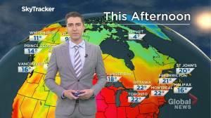 Saskatchewan weather outlook: June 8