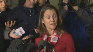 Freeland says CUSMA discussions ongoing, ratification would be 'positive step' for North America