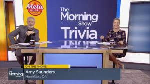 Lighten Up Trivia: Hamilton, Ont. mom takes a chance to win $1K (03:57)