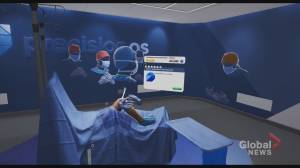 How future surgeons are turning to Canadian technology to train remotely during COVID-19 (02:12)