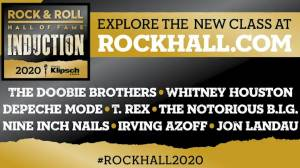 Rock & Roll Hall of Fame announces 2020 inductees