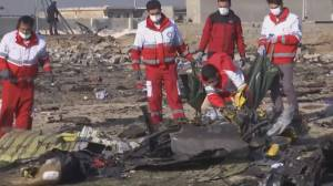 Iran plane crash: searching for answers (03:39)