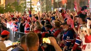 Habs avoid the sweep, but post-game celebrations in Montreal lead to lead to 4 arrests, 31 tickets (03:30)
